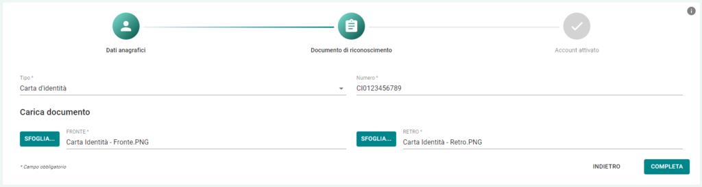 documento di identità
