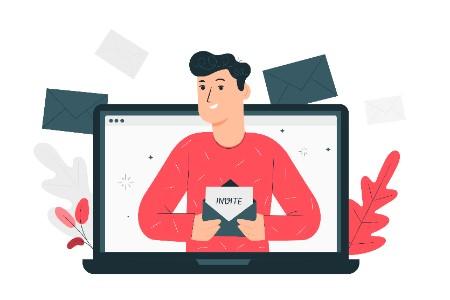 personalizzare invito seduta online